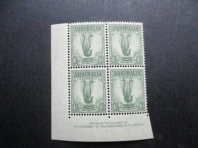 Australian Pre Decimal Stamps: Block (MINT) - Excellent Item, Must Have! (L2399)