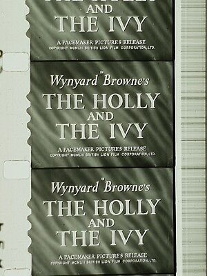 The Holly & The Ivy  (1952) 16mm feature Ralph Richardson, Denholm Elliot,