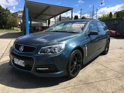 2013 Holden Commodore VF SV6 Blue Automatic A Wagon