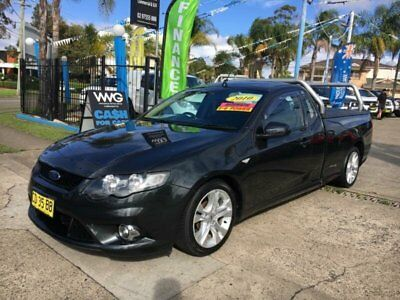 2010 Ford Falcon FG XR6 Grey Automatic A Cab Chassis