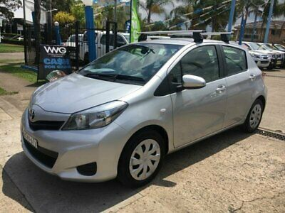 2014 Toyota Yaris NCP131R YRS Silver Automatic 4sp A Hatchback