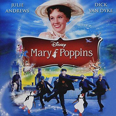 Mary Poppins: The Original M.picture Soundtrack -    Cd New!