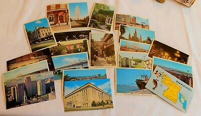 Collection Of 21 1960's Vintage New Orleans Postcards - Unused!
