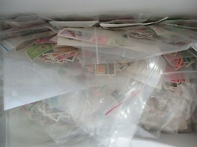 ESTATE: World in packets unchecked unsorted AMAZING  - grab them     (b43)