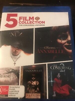 5 Film Collection: The Conjuring Universe (The Nun /  . - BLU-RAY - NEW Region B