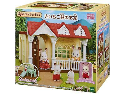 Sylvanian Families RASPBERRY HOUSE HA-50 Epoch Calico Critters