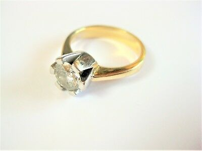 Ring Gold 585 mit Diamant 1,10 ct