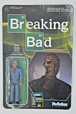 Breaking Bad GUS FRING (dead) - ReAction figure - Funko NYCC 2015 - New
