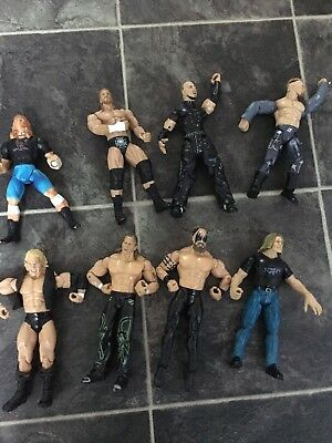 18 WWF/WWE Action Wrestling Figures From Hasbro