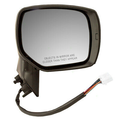 New Door Mirror Glass Replacement Driver Side Heated For Subaru Forester 09-12