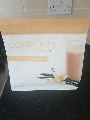 Juice Plus Complete Vanilla Shakes 562.5g Pouch, new and unopened