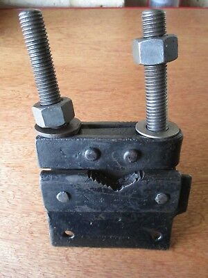 Vintage Footprint Pipe Vice Clamp England