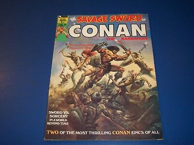 Savage Sword of Conan #1 Bronze age Barry Smith Neal Adams Huge Key VF Beauty