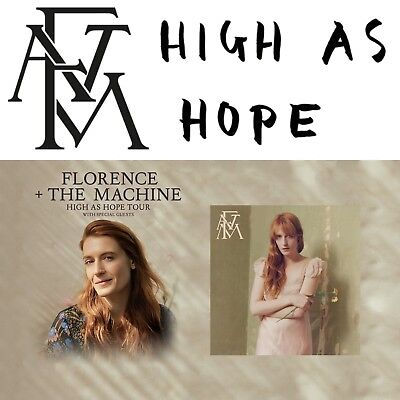 Florence and the Machine 2 Tickets Oberrang, Block 410 R 14 Berlin 14.03.2019