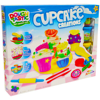 Dough Tastic Cupcake Creations Machine and Play Dough Cupcakes Decorations Mould