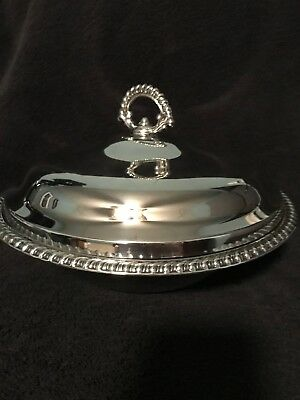 william rogers silver plate Covered Serving Dish
