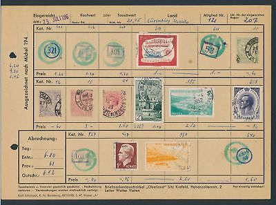 XB35063 Luxembourg Monaco nice lot of good old stamps used
