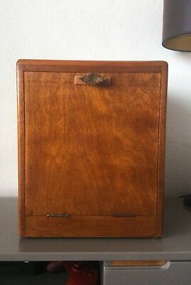 Vintage 1920-45 Polished Wooden Record/Vinyl Cabinet Highly Collectable