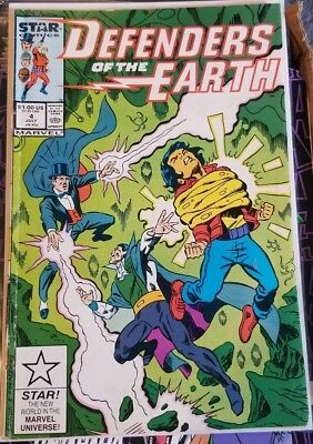 DEFENDERS OF THE EARTH #4 (July 1987, Marvel)