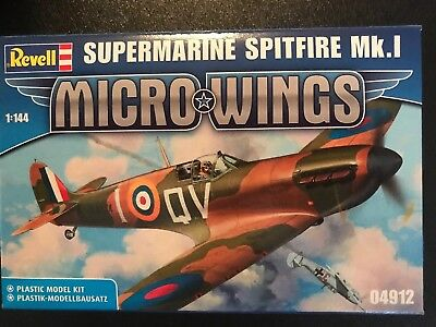 04912 Revell MICRO WINGS 1:144   SUPERMARINE SPITFIRE Mk1
