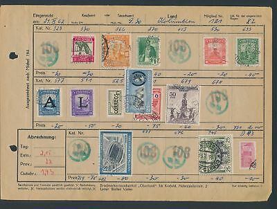 XB35157 Colombia nice lot of good old stamps used