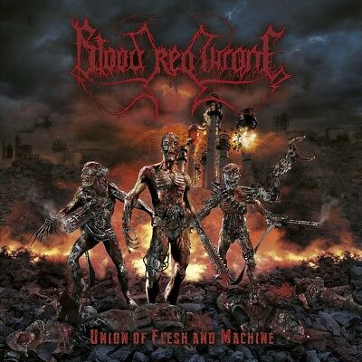 Blood Red Throne - Union Of Flesh And Machine   Cd New!