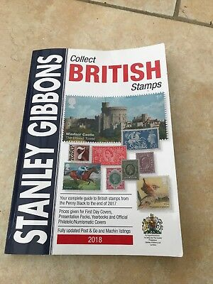 stanley gibbons collect british stamps 2018 Catalogue