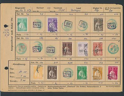 XB35203 Portugal nice lot of good old stamps used