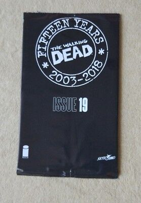 The Walking Dead #19 sealed 15th Anniversary blind bag 2018 Image Comics
