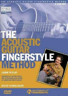 The Acoustic Guitar Fingerstyle Method by Hamburger, David