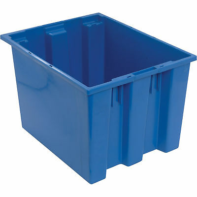 Quantum Stack and Nest Tote Bin-19 1/2in x 15 1/2in x 13in Size BLU #SNT 195 B