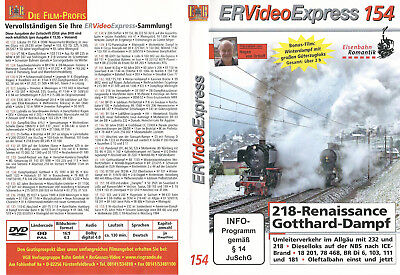 DVD ER VideoExpress Video Express 154 +  Heft Züge