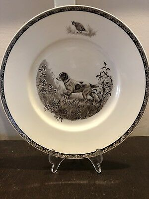WEDGWOOD Brittany Spaniel The American Sporting Dog Plate By Kirmse