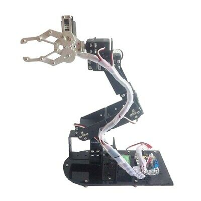 6-DOF Robot Clamp Claw Mount Kit Mechanical Robotic Arm With Servos