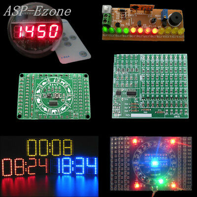 Remote Control Clock SMD Electronic Component Welding Practice DIY Kit lot
