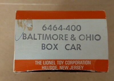 Lionel 6464-400 B&O Box ONLY