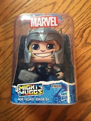 Thor Mighty Muggs Marvel Avengers Hasbro Action Figure #11 BRAND NEW in Stock