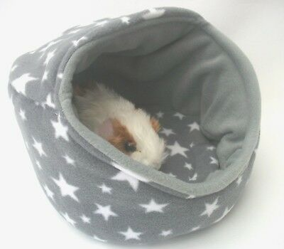 """1x 12"""" POD 1 x LARGE TUNNEL 1 x OVAL BED WITH CUSHIONS  HEAT PAD COVER GREY STAR"""