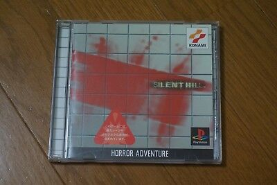 Silent Hill Sony Playstation Japan Tested! Rare!