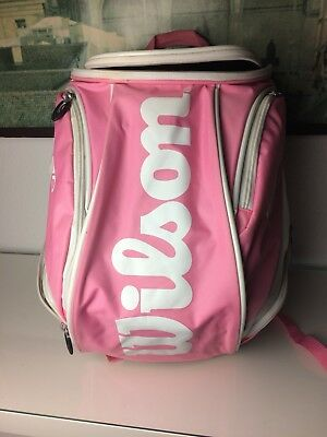 Wilson Pro Tour Tennis Rucksack, Backpack Pink