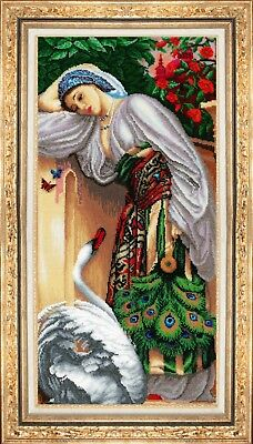 "Bead Embroidery kit GOLDEN HANDS MK-014 - ""Odalisque"""