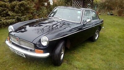 Classic sports car. 1981 MGB GT (with over drive)