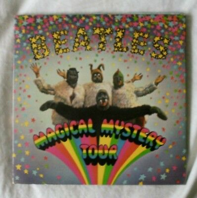 The Beatles Magical Mystery Tour Double 7 Inch Ep Book Sleeve Only