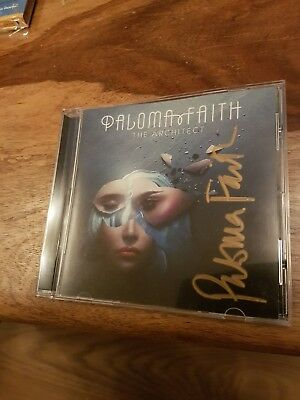 Paloma Faith - The Architect SIGNED CD Album Unplayed & New
