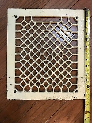 Antique Vintage Cast Iron Heater Grate Vent Register Cover 12 x 14 inches