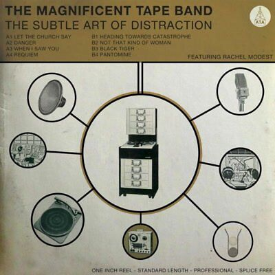 The Magnificent Tape Band - The Subtle Art Of Distraction   Cd New!