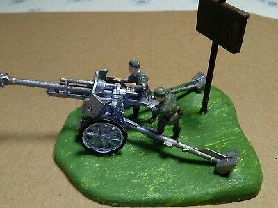 Figuren 1 72 German 105 mm Howitzer BEMALT