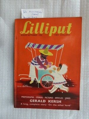 Lilliput  Aug-Sept 1952 Ronald Searle -Patrick Campbell - Gerald Kersh
