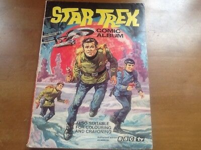 Star Trek Comic Album 1974 also suitable for colouring and crayoning