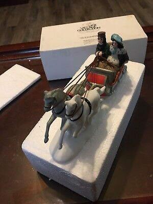 Heritage Village Collection Sleighride Dept 56 Dickens Accessory